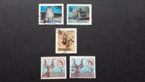 Rhodesia Various Used