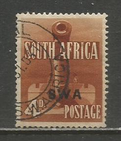 South West Africa   #140a  Used  (1941)  c.v. $1.00