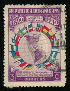 1940, Republica Dominicana, 3c (RT-246)