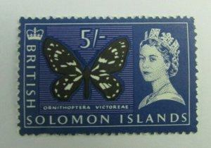 British Solomon Islands  SC#140  Butterfly  MNH stamp
