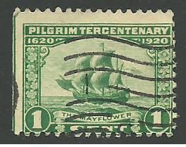 US Cat # 548, The Mayflower, Used*