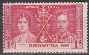 Bermuda #115 MMH  (S2316)