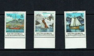 South Georgia: 1995  Sailing Ships, MNH