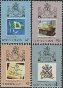 Norfolk Island 1989 SG465-468 Internal Self Government set MNH