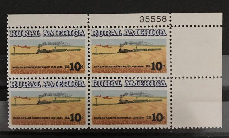 U.S. 1973-4 #1504-PB, MNH, CV $1