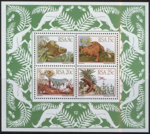 South Africa MNH S/S 609a Dinosaurs 1982