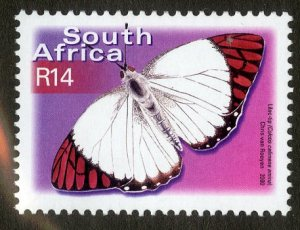 SOUTH AFRICA 1235 MH SCV $6.50 BIN $2.75 BUTTERFLY