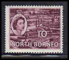 North Borneo Very Fine MLH ZA5647