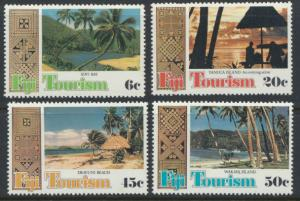 Fiji SG 600-603 SC# 430-433  MNH Tourism  see scan