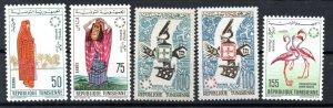 1967 - Tunisia -Opening of World's Fair EXPO '67 - Montreal, Canada - 5v.MNH**