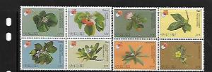 PALAU, 420-421, MNH, BLOCK OF 4, HONG KONG '97