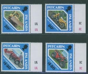 Pitcairn Islands SC#354-7 Island Transportation, set,  MNH