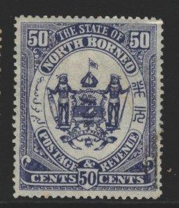 North Borneo Sc#69 MNG
