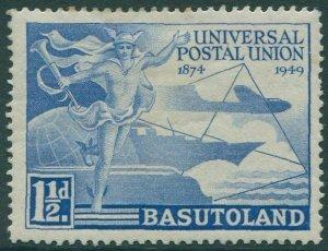 Basutoland 1949 SG38 1½d blue UPU MLH