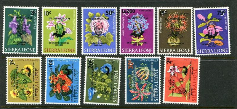 Sierra Leone #300-5 C37-41 Mint  (box1)