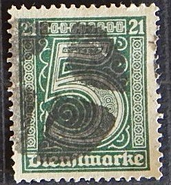 Germany, (1586-Т)