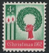 SCOTT # 1205 FOUR CENTS CHRISTMAS 1962 SINGLE MINT NEVER HINGED GEM !!