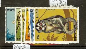 PARAGUAY (P1912BB) ANIMALS  SC1481-4    MOG