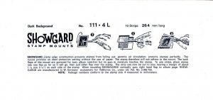 SHOWGARD 264/111 (5) BLACK MOUNTS RETAIL PRICE $11.95