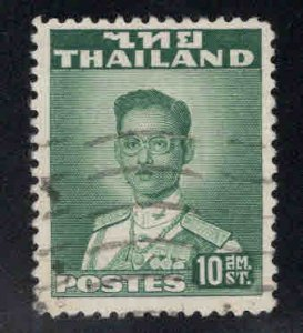 Thailand Scott 284 Used from 1951-1960 stamp set