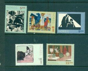 Norway - Sc# - 1355-9. 2003 Graphic Arts. MNH $16.15.