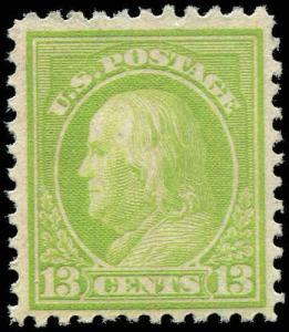 US 513 13c  Franklin Mint Hinge   1