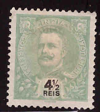 Portuguese India Scott 203 MNG King Carlso stamp