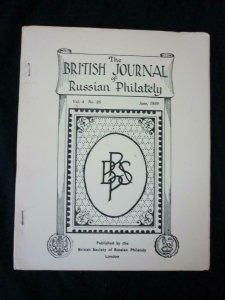 THE BRITISH JOURNAL OF RUSSIAN PHILATELY No 25 JUNE 1959