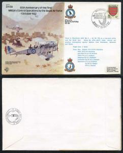 B9a D.H.9a 1st Military Control Operations by the RAF Standard Cover