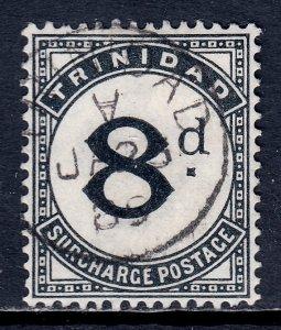 Trinidad - Scott #J7 - Used/CTO - Pulled perfs at left - SCV $10