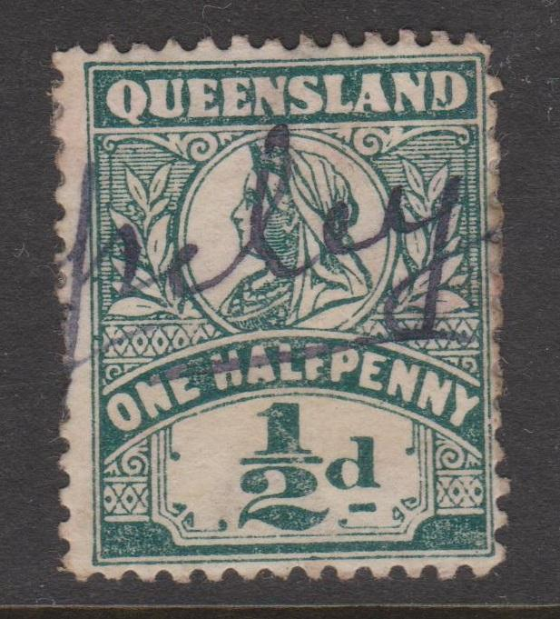 Queensland QV Sideface Selection of 5 Used