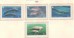THAILAND Scott 1815-1818 MNH** stamp set
