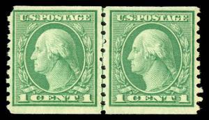 USA 490 Mint (NH) Line Pair