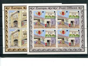 Gibraltar1990 Europa issue compl. sheets  Mint VF NH