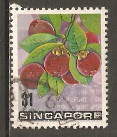 Singapore  #198  used  (1973)  c.v. $0.75