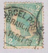 Queensland 122 Used Queen Victoria 1 1897 (BP51723)