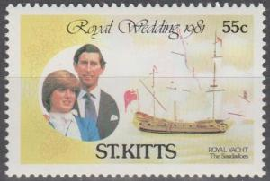 St Kitts #75  MNH VF (SU1667)