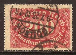 Germany  #  200  used