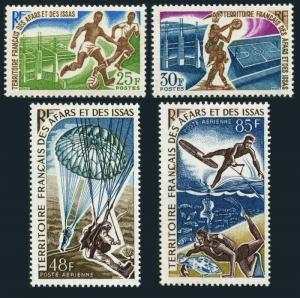 Afars & Issas 315-C52,MNH. Soccer,Basketball,Parachutists,Skier,Skin Diver.1967.