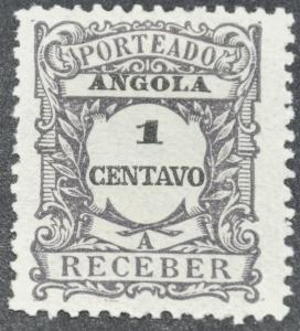 DYNAMITE Stamps: Angola Scott #J22 – MINT hr