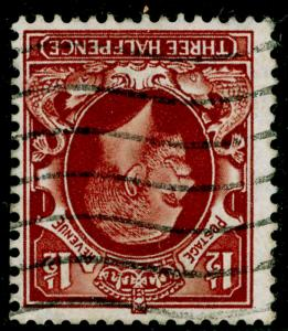 SG441Wi, 1½d red-brown, USED. WMK INV