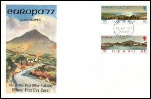 Isle of Man 99-100 Europa U/A FDC