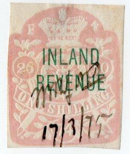 (I.B) QV Revenue : Inland Revenue 1/- (SG F48)