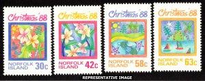 Norfolk Islands Scott 440-443 Mint never hinged.
