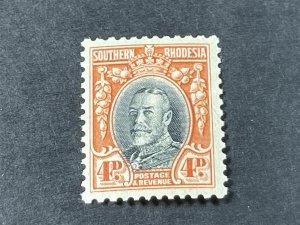 SOUTHERN RHODESIA # 21b-MINT/HINGED---P-11 1/2---SINGLE---1935