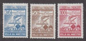 Paraguay Scott #C318-C320 MH