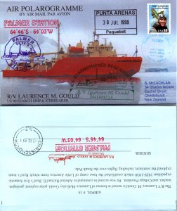 Australian Antarctic Territory, Polar, Air Letters, Ships, Paquebot