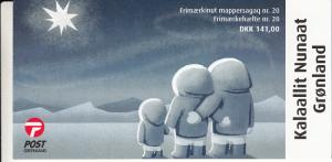 Greenland Booklet 2015 Christmas  Polar bear family, human family looking at ...
