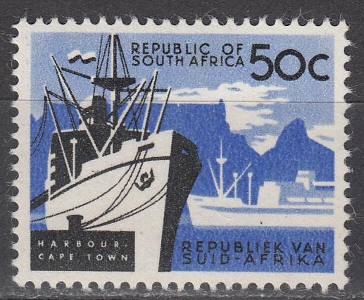South Africa - 1962 50c Cape Town (No Wmk) - MLH(8500)