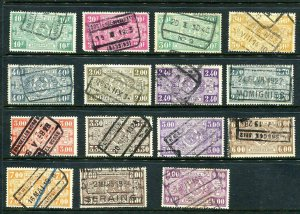 Belgium 1920 and up Accumulation Railway Cancellation Used  8174